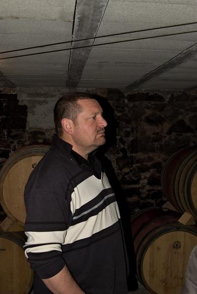 Patrick Jasmin of Domaine Jasmin, Ampuis, Cote Rotie.