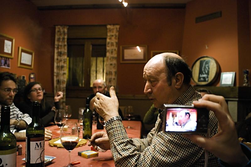 Florentino Monje Arnestoy, owner of Luberri in Rioja.