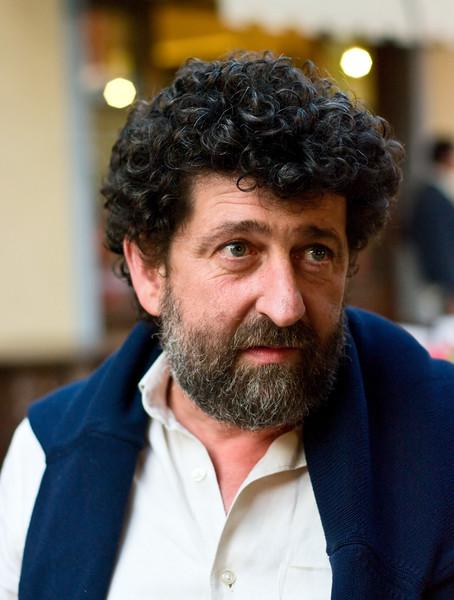 Enrico Pozzesi, owner of Rodano Chianti Classico winery in Tuscany.