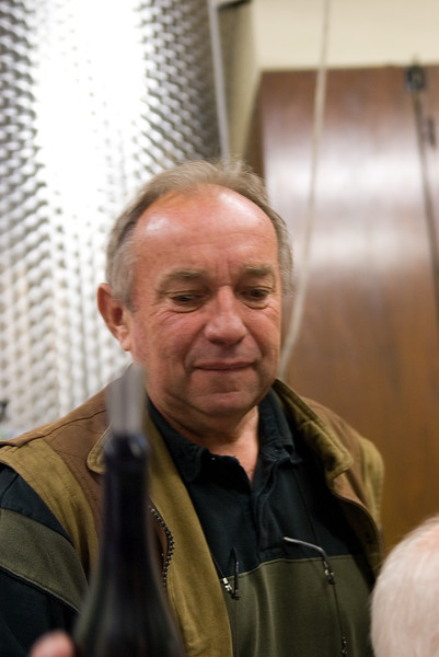 Michel Colin of Domaine Colin-Deleger, Chassagne-Montrachet.