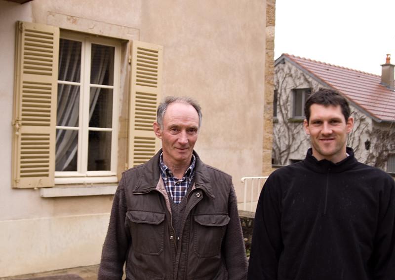 Francois Jobard & son of Domaine Francois Jobard, Meursault.