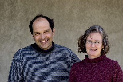 Kimberly & Robert Cripps of Domaine du Poujol, Coteaux du Languedoc.