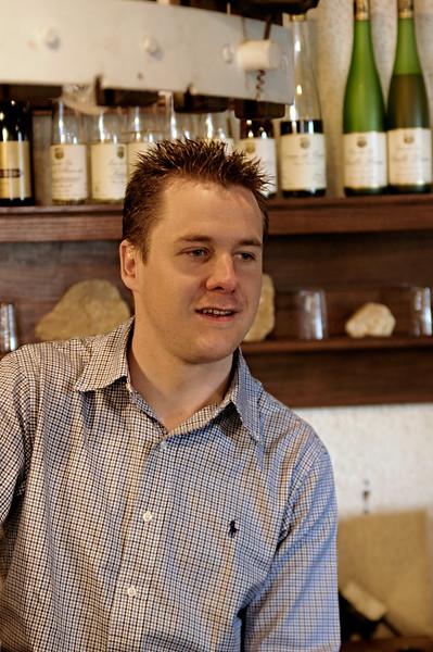 Samuel Tottoli, winemaker for Maison Kuentz-Bas, Alsace.