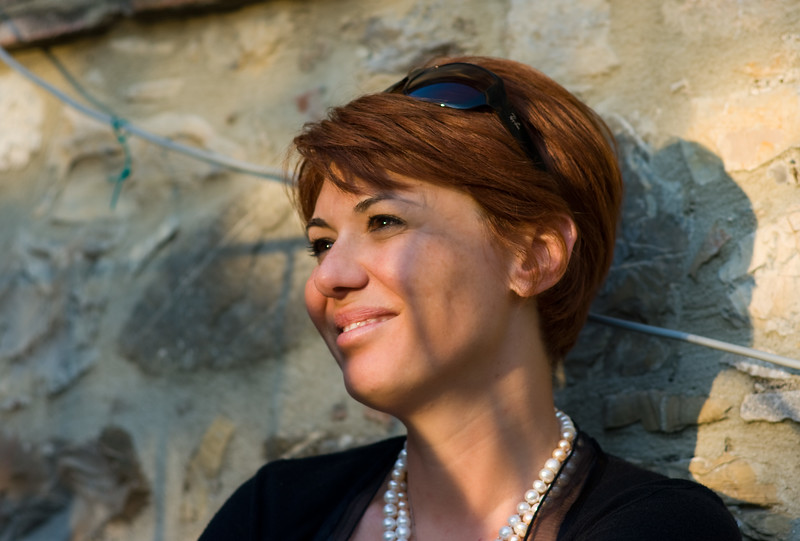 Marilena Barbera of Cantine Barbera winery in Sicily.