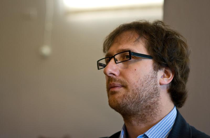 Stephano Gagliardo, proprietor of the Gagliardo winery in Piedmont, Italy