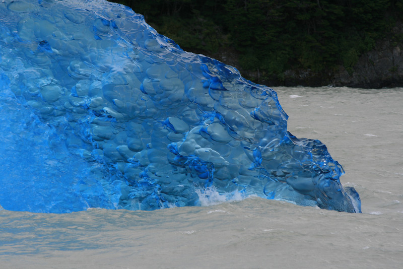 Close up of iceberg on Lago Gray, Torres del Paine National Park, Chile. 2009.