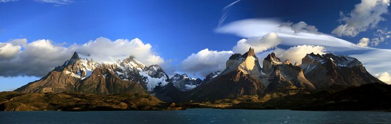 Grand Paine and Cuernos del Paine, Torres del Paine National Park, Chile. 2009.