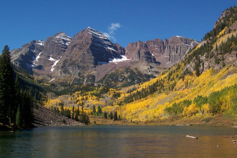 Maroon Bells, Aspen, Colorado.