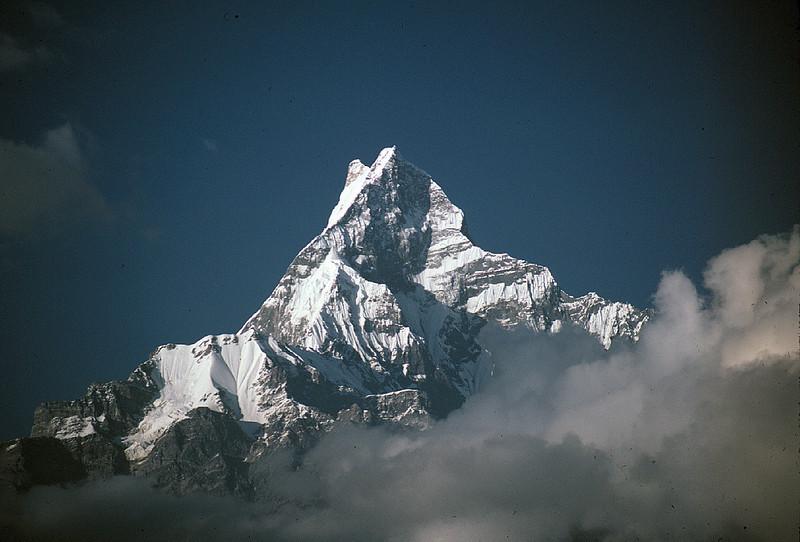 Machhapuchhre, Nepal. 1984.