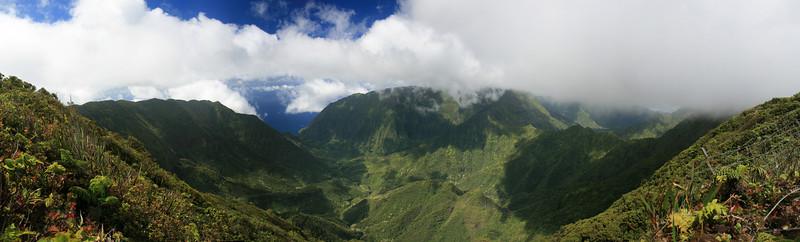 Pelekunu Valley, Molokai, Hawaii.
