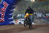 This was funny- Not an actual race bike, but he made a nice little jump over the Red Bull Arch at the beginning of the Baja 1000! (guess he snuck in for a press shot!)