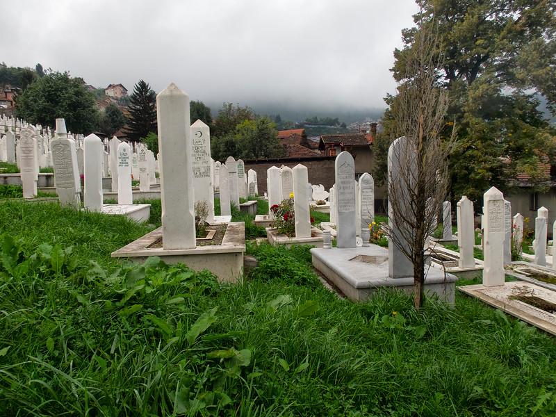 Muslim Cemetery, Sarajevo, Bosnia and Herzegovina