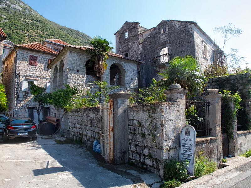 Hotel Admiral, Perast, Montenegro