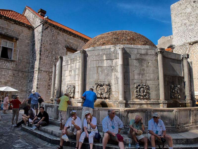 Onuphrius' Fountain, Dubrovnik, Croatia