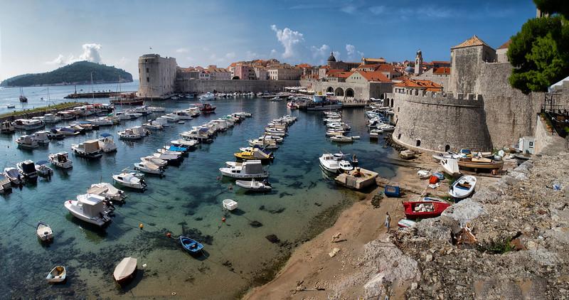 St. John Fortress, Dubrovnik, Croatia