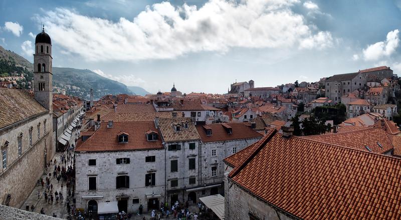 Stradun, Dubrovnik's main street, Croatia