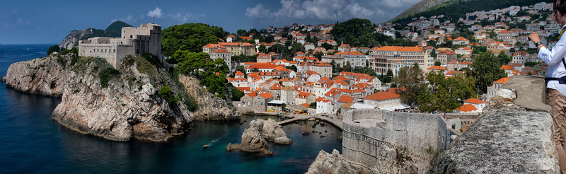 Fort Lovrijenac or St. Lawrence Fortress, Dubrovnik, Croatia