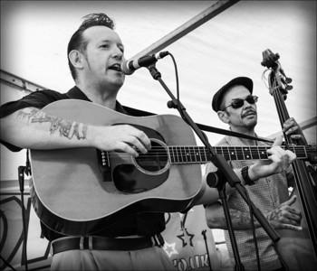 Ian Calford & The Railmen, July 2013