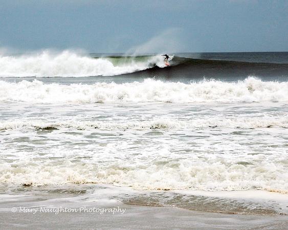 Long Beach surfer, with help from Hurricane Earl
