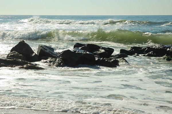 Rocks & foam