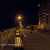 Boardwalk at night, Long Beach, NY
