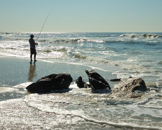 Fishing at Long Beach