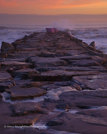 Purple Rock Jetty, Long Beach, NY