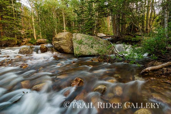Cascades on Glacier Creek