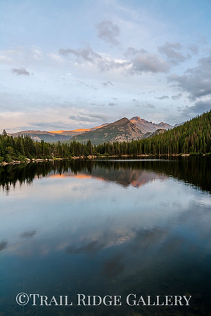 Late Summer At Bear Lake - V