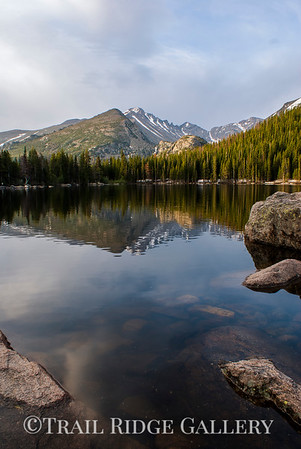 A Calm Sunrise On Bear Lake