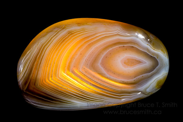 040 Banded Agate Glow