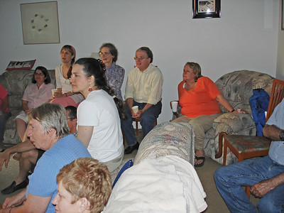2006: Bev and Kathe's Farewell party - March 11, and  they came back for a visit - June 18.