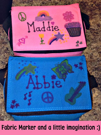 Maddie and Abbie's coolers are so much fun!
