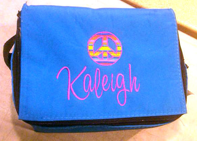 Kaleigh's mom Errin had this made for her. Lucky girl!