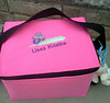 "Lissa Kristine has an oh-so-chic personalized bag now for her favorite lunch containers. Isn't this pretty? You'll find a number of posts about how she enjoys packing lunch in EasyLunchboxes on her wonderful blog: <a href=""http://honeylissabee.com/"">HoneyLissaBee.com</a>"