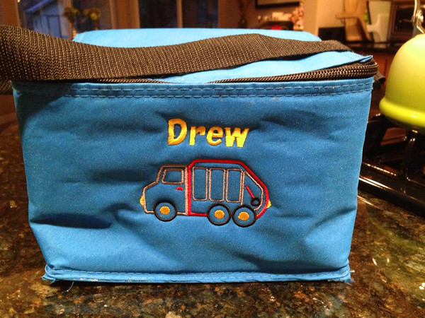 Drew's TRUCK lunch cooler bag