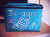 "Jiedyn's snazzy school lunch bag design had him all smiles... More on Melissa's <a href=""http://melissanevaehjiedyn.blogspot.com.au/2012/02/creativity-captured.html"">blog</a>"