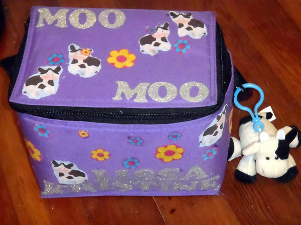 Cow lover cooler bag