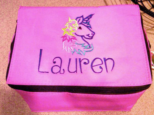 Lauren's mom Errin had this made for her. Lucky little girl!