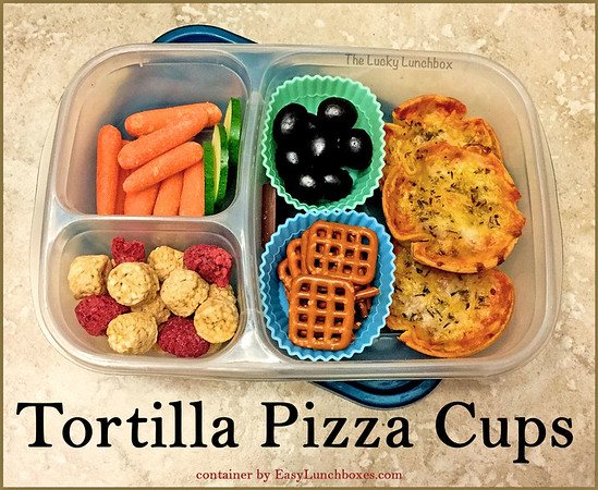 Tortilla Pizza Cups