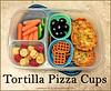 Tortilla Pizza Cups