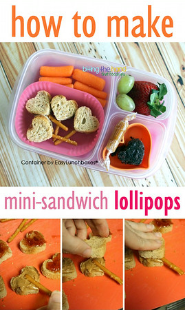 Mini-Sandwich Pops