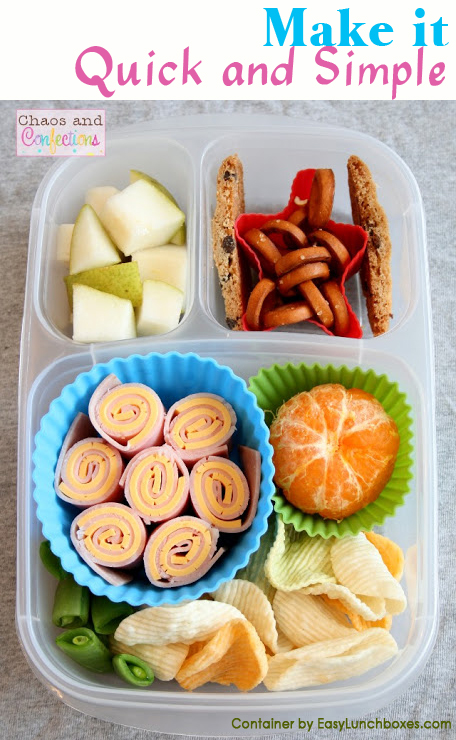 Quick and Easy lunches