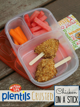 chicken on a stick lunch box