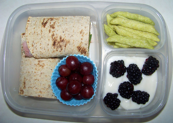 Colorful School Lunch
