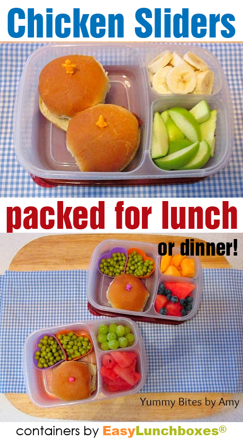 Chicken Sliders Lunch Box