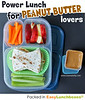 Power lunch for peanut butter lovers