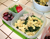 Kale and pasta [VIDEO] how-to. Delicious lunch box recipes.