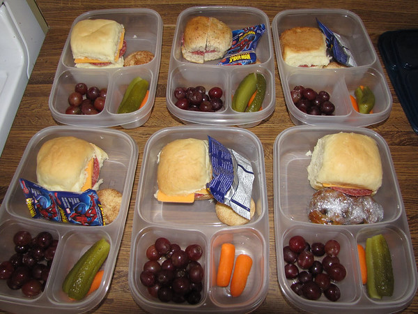 Picnic lunches