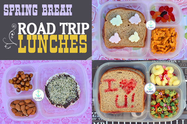 Yummy lunch ideas for packed lunch boxes easylunchboxes road trip lunches forumfinder Choice Image